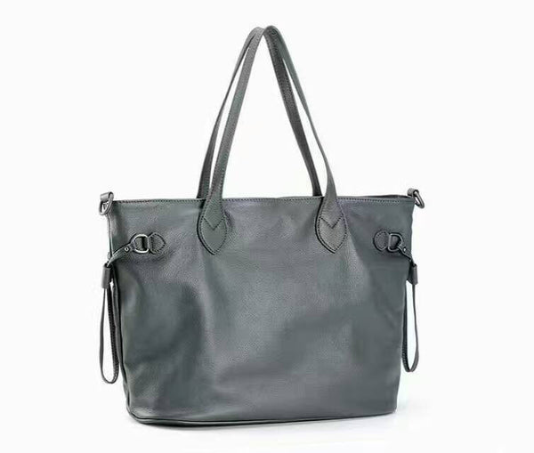 Designer Large Genuine Leather Shoulder Bag - Designer Inspired Handbags Large Purse Shop