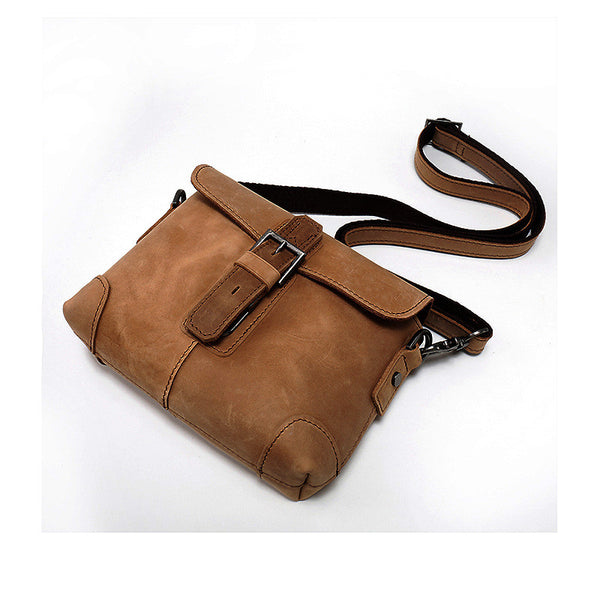 Designer Genuine Leather Messenger Bag
