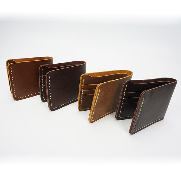 Designer Bi-fold Men's Leather Wallet