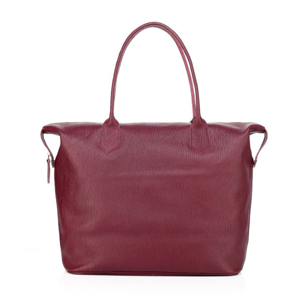 """Designer Inspired"" Avery Vintage Italian Leather Weekender Bag - Leather Hand Luggage Large Purse Shop"