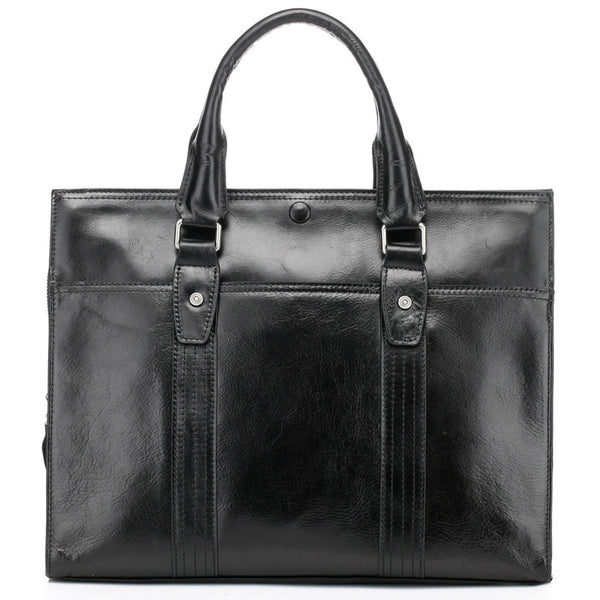 """Designer Inspired"" Unisex Leather Tote Bag - Thomas - Leather Man Bags Large Purse Shop"