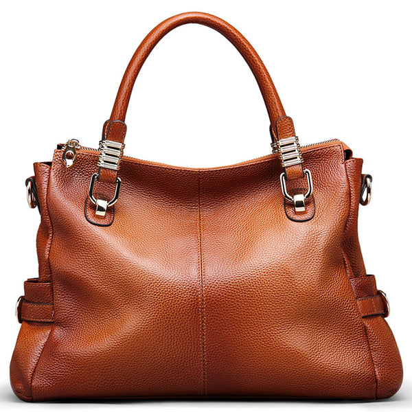 Designer Italian Leather Tote Cross / Body Bag