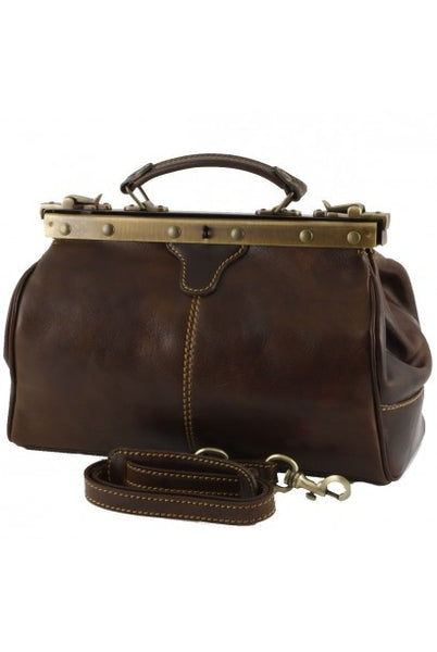 """Made In Italy"" Leather Doctor Bags - Swiebodzin - Leather Doctors Bag Large Purse Shop"