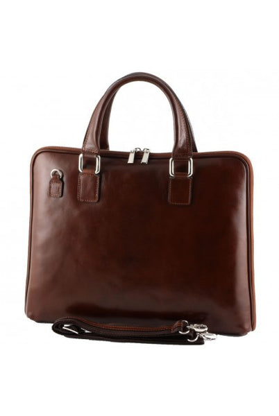 """Made In Italy"" Ladies Leather Briefcase - Eschenheimer Turm - Leather Briefcase Large Purse Shop"