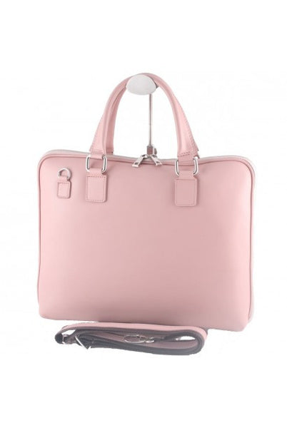 """Made In Italy"" Ladies Leather Briefcase - Eschenheimer - Leather Briefcase Large Purse Shop"