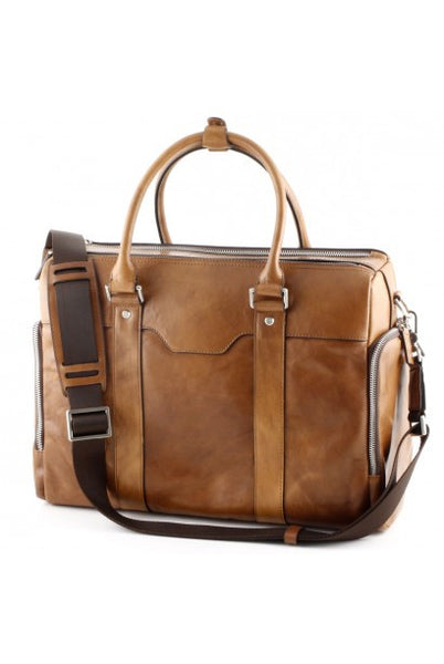 """Made In Italy"" Leather Bag, Briefcase - Stiftskirche - Leather Briefcase Large Purse Shop"