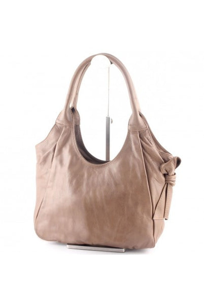 """Made In Italy"" Leather Shopper, Shoulder Bag - Altportel - Italian Leather Handbags Large Purse Shop"