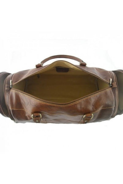 """Made In Italy"" Leather Hand Luggage - Torres de Quart - Leather Hand Luggage Large Purse Shop"