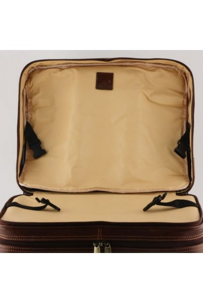 """Made In Italy"" Leather Hand Luggage Bag/Trolley - Van Brienenoord -  - Large Purse Shop - 2"
