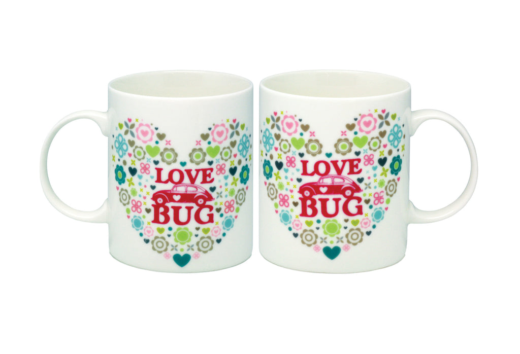 Heart Lovebug Mug