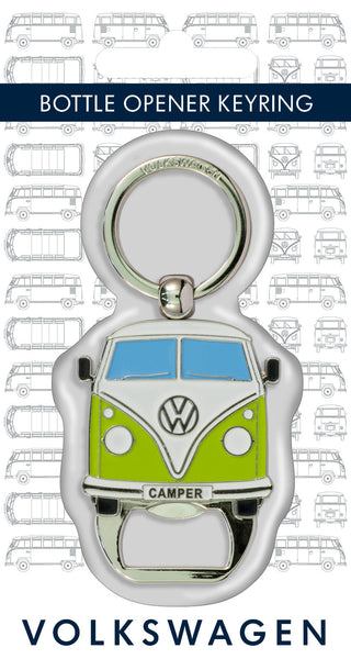 VW Bus Keyring with Bottle Opener
