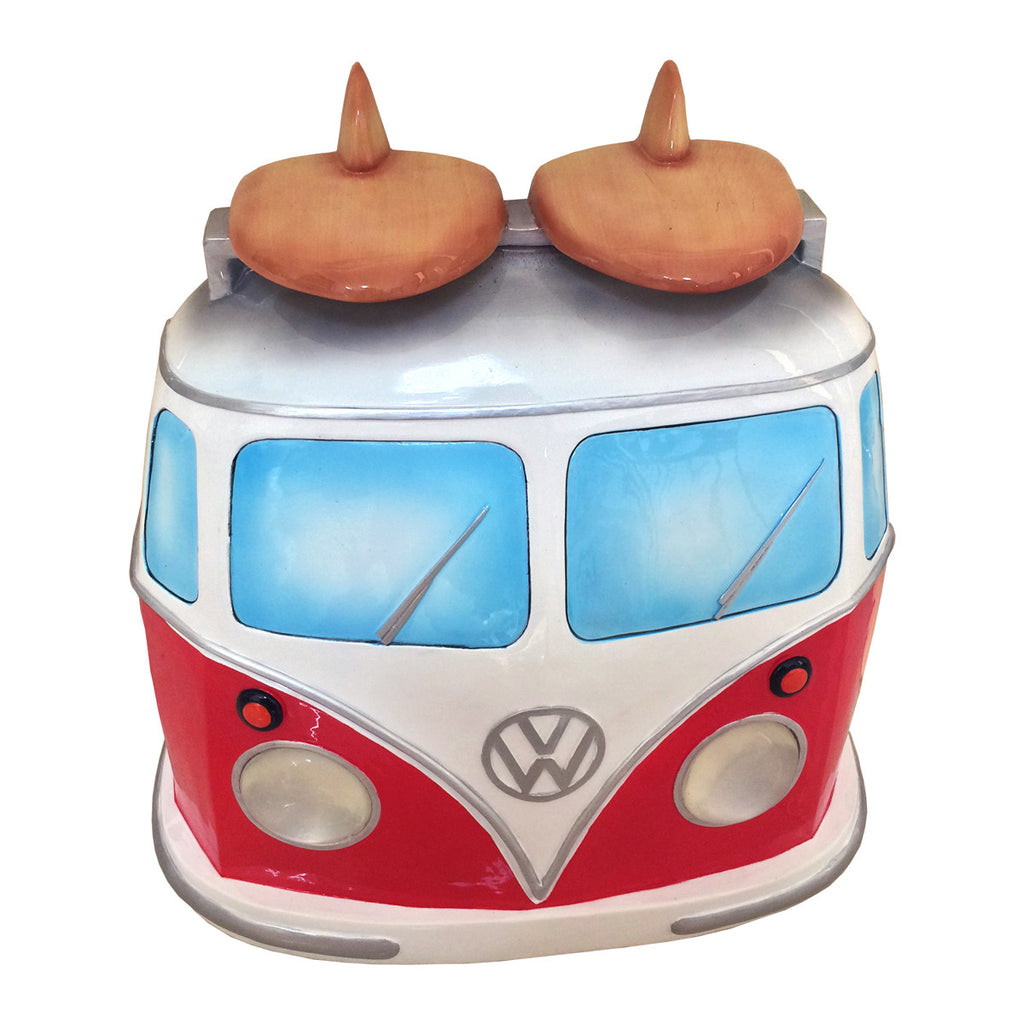 VW Bus Wall Decor (Working Lights)