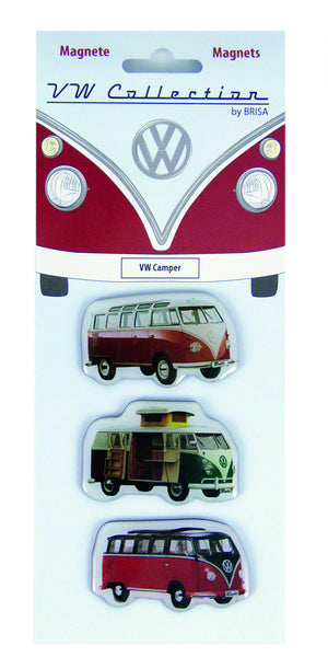 VW T1 Bus Silhouette Magnets
