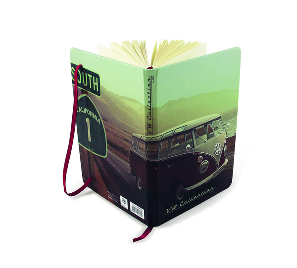 VW T1 Bus Vintage Beach Notebook