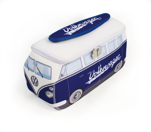 BUNE42  VW T1 LARGE NEOPRENE BAG IN BLUE CLASSIC