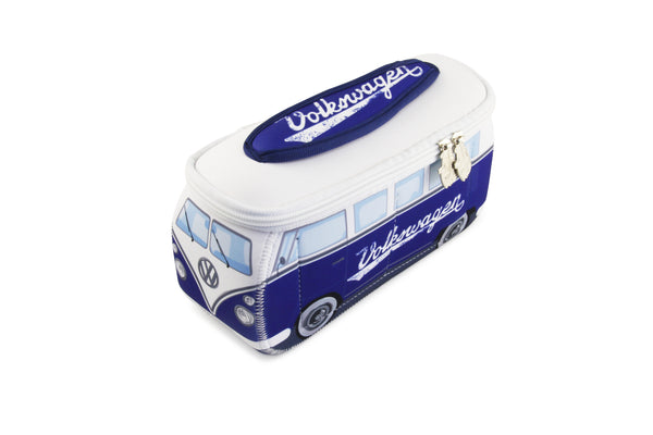 BUNE52  VWT1 SMALL NEOPRENE BAG IN BLUE CLASSIC
