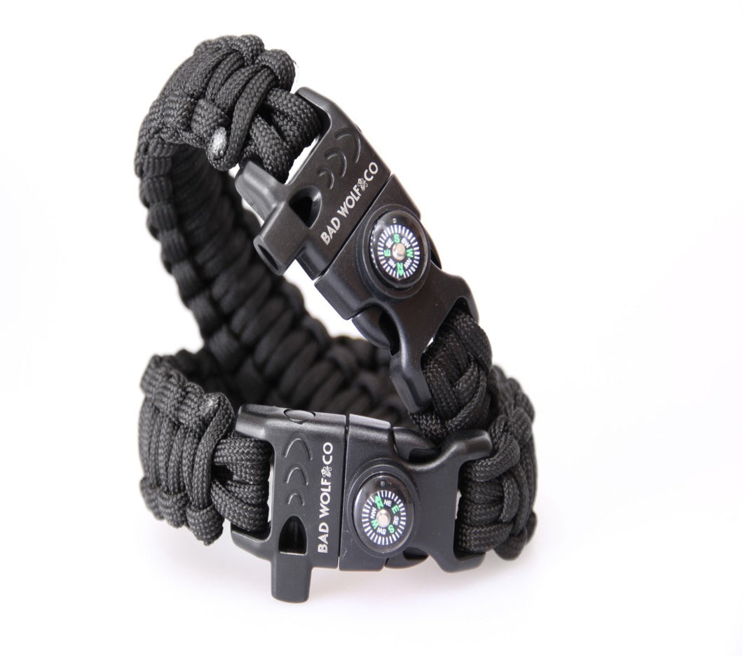 550 Paracord bracelet - Bad Wolf & Co.