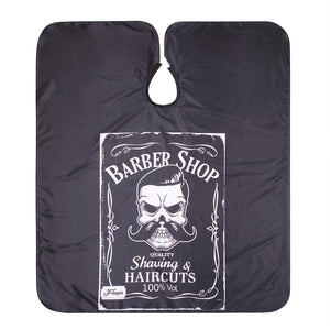 Skull Design Waterproof Barber Apron - Bad Wolf & Co.