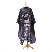 Load image into Gallery viewer, Skull Design Waterproof Barber Apron - Bad Wolf & Co.