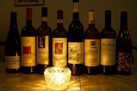 Barolo, Brunello, Barbaresco