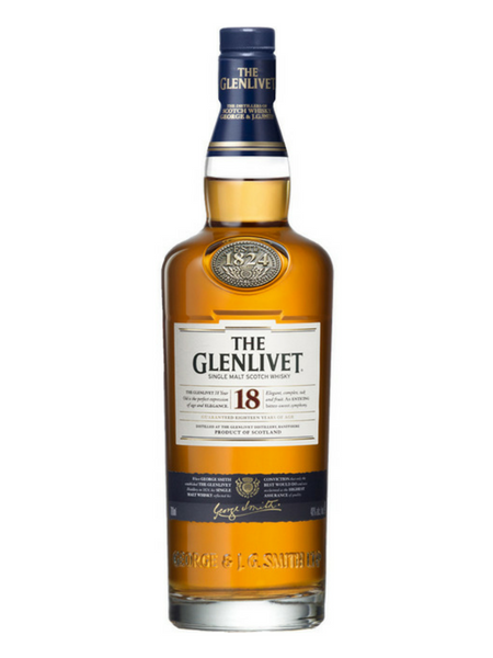 The Glenlivet 18 Year Old Whisky