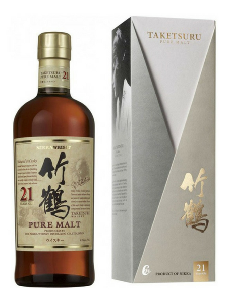 Nikka Taketsuru 21 Year Old Japanese Whisky (old label)