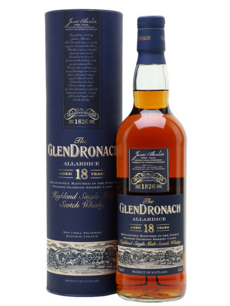 Glendronach 18 Year Old Whisky