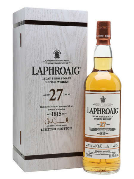Laphroiag 27 Year Old Limited Edition Whisky