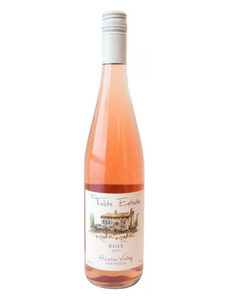 Talits Estate Rosé 2017 wine, Hunter Valley, Elvino, Shiraz, Pinot, Grenache, Red Wine, Rose Wine, Australian Wine, Cheap Wine, Good value rose