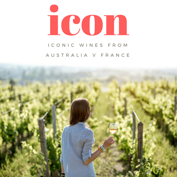Icon: Australia vs France Wine Dinner Christmas gift Sydney wine tasting