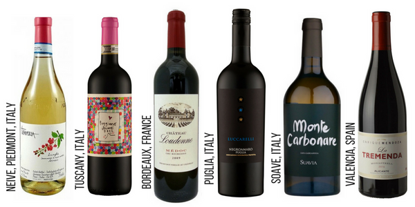 Six Regions Wine Pack