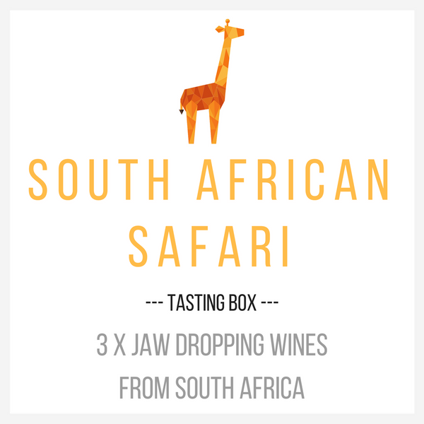 South African Wine Tasting Box El Vino Gift Christmas wine