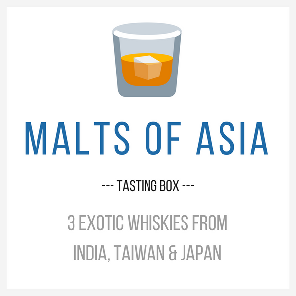 Asian Whiskies Tasting Box