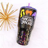 It's All a Bunch of Hocus Pocus Glitter Tumbler