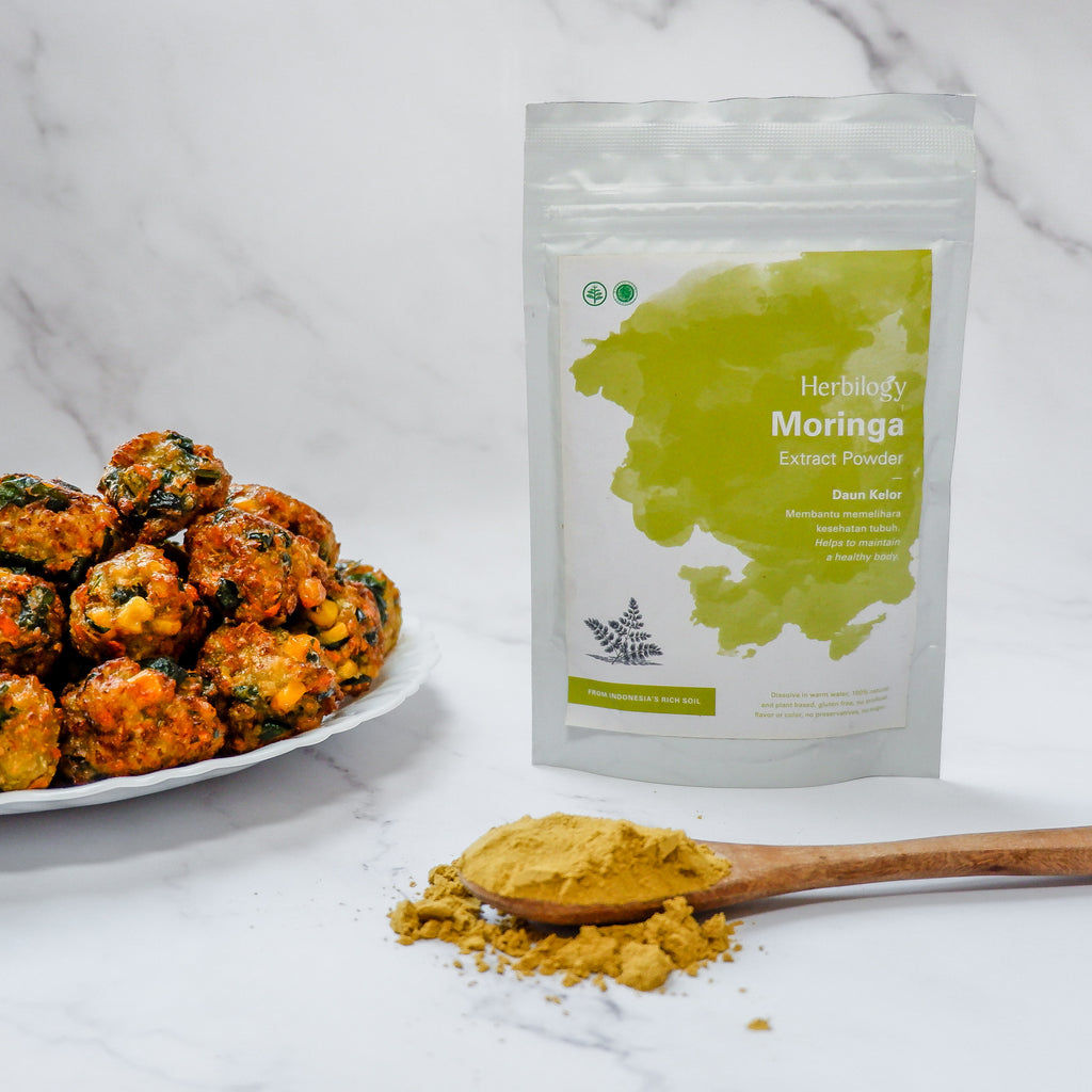 Veggie Balls with Herbilogy Moringa Extract Powder