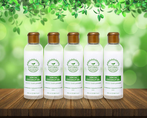 Pack of 5 Naturali VCO 100 ml bundle