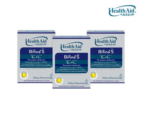 Health Aid Bifina S30 Trio Bundle for sale | VPharma