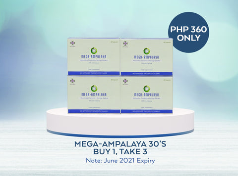 Buy 1 Take 3 Mega-Ampalaya 30's