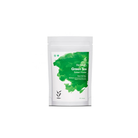 Herbilogy Green Tea Extract Powder (Teh Hijau) | VPharma