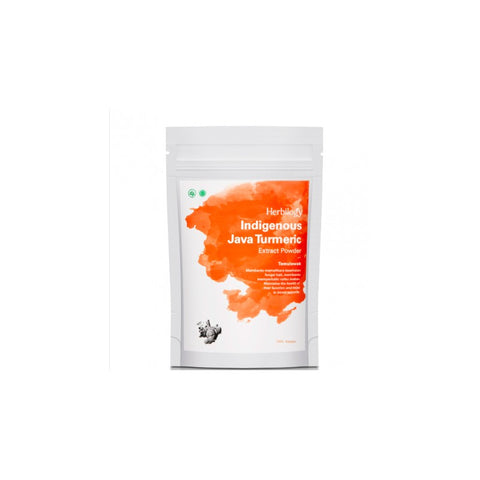 Herbilogy Indigenous Java Turmeric Extract Powder (Temulawak) | VPharma