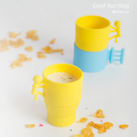 Good morning |  silicone cup
