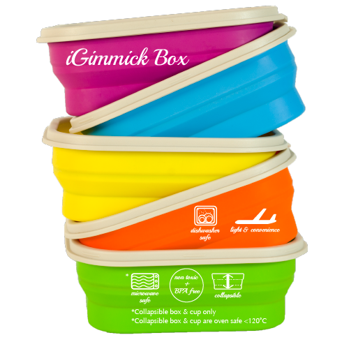 IGimmick Lunch Box Set