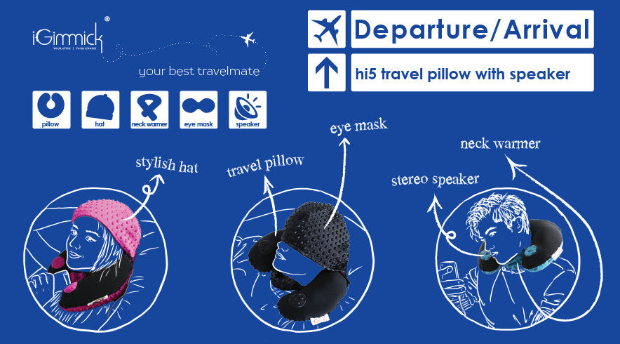 iGimmick hi Travel Pillow