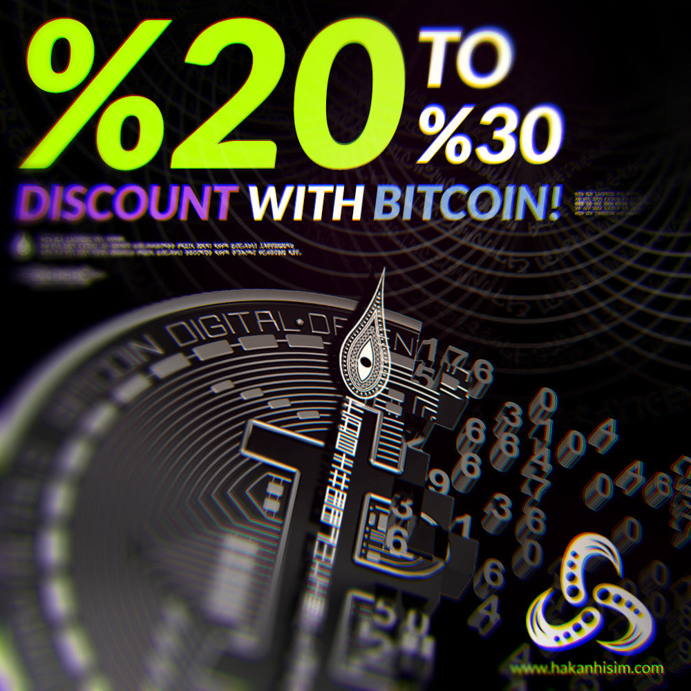 Buy with Bitcoin for %20 OFF!