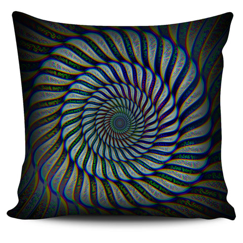 Phonetic Vortex Pillow Cover