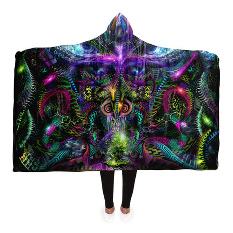 Primordial Archetype Hooded Blanket