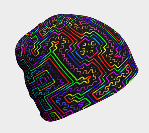Prismatic Overlay Beanie