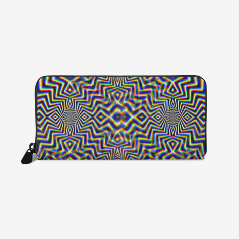 Chromadelic Leather Wallet