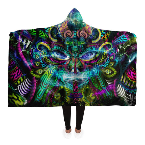 Jungle Juice Hooded Blanket