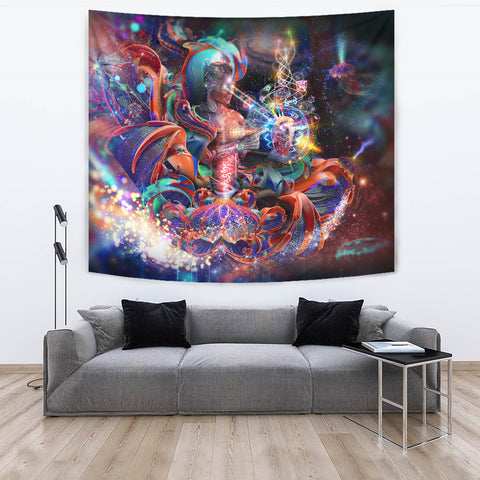 Heal Thyself Artwork Tapestry